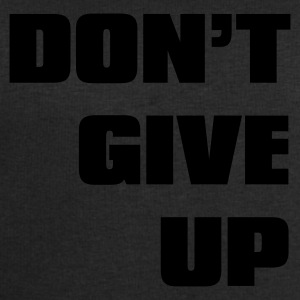 Nero don't give up T-shirt - Felpa da uomo di Stanley & Stella