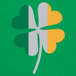 Shamrock Irish Flag - Retro-tas