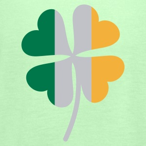 Shamrock Irish Flag - Vrouwen tank top van Bella