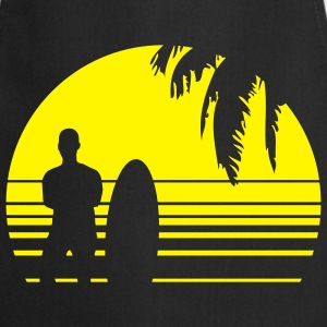 BEACH SURFING BOY PALME 1C T-shirts - Förkläde