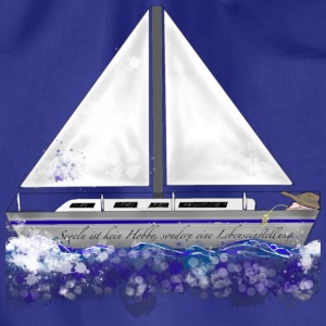 Segelboot T-Shirts - Turnbeutel