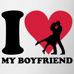 I love my Boyfriend T-shirt - Tazza