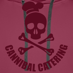 cannibal catering vector T-Shirts - Männer Premium Hoodie