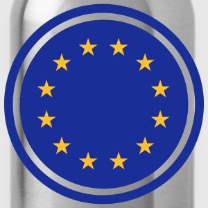 europeanflag_2c T-Shirts - Water Bottle