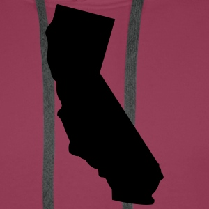 State of California T-Shirts - Men's Premium Hoodie