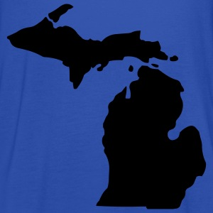 State of Michigan T-Shirts - Women's Tank Top by Bella