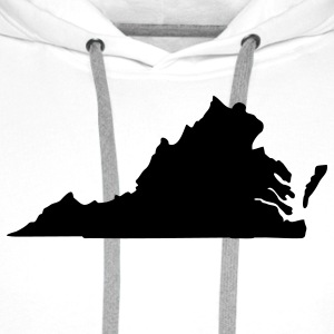 State of Virginia T-Shirts - Men's Premium Hoodie