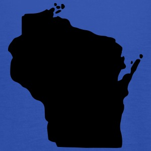State of Wisconsin T-Shirts - Women's Tank Top by Bella