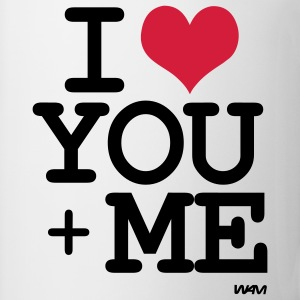 i love you plus me by wam Camisetas - Taza
