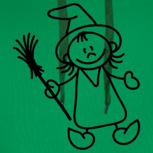 Cute little witch T-Shirts - Men's Premium Hoodie
