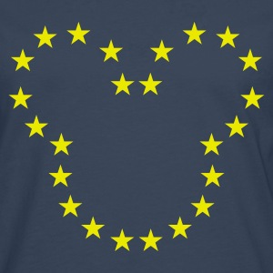The European Kingdom™ - Mannen Premium shirt met lange mouwen