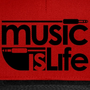 music life - Casquette snapback