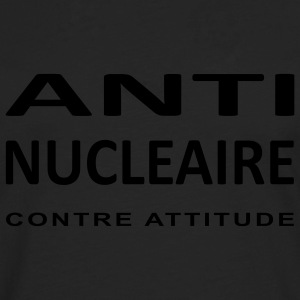 LOGO ANTI NUCLEAIRE T-shirts - T-shirt manches longues Premium Homme