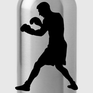 boxer boxing sport T-Shirts - Water Bottle