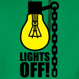 Lights off | Light bulb T-Shirts - Premium hettegenser for menn