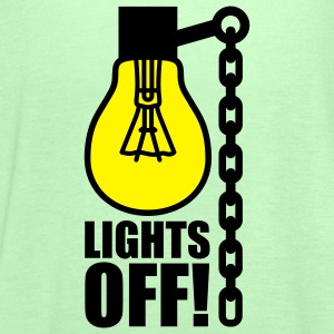Lights off | Light bulb T-Shirts - Singlet for kvinner fra Bella