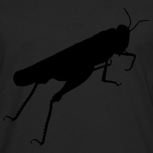 grasshopper animal T-Shirts - Men's Premium Longsleeve Shirt
