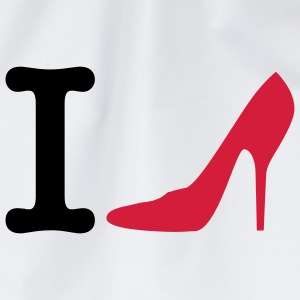 I love High Heels | Schuhe | Schoes T-Shirts - Drawstring Bag