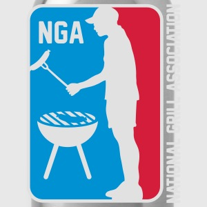 NGA NATIONAL GRILL ASSOSIATION T-Shirts - Trinkflasche