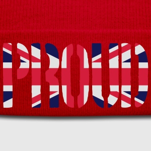 PROUD Great Britain flag, brittiska flaggan, Union - Vintermössa