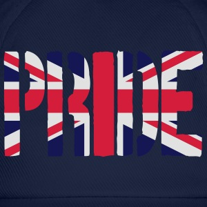 Pride Great Britain flag, brittiska flaggan, Union - Basebollkeps
