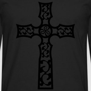 tribal_cross_a_1c T-shirts - Långärmad premium-T-shirt herr