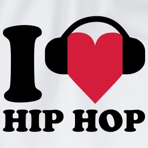 I love Music - Hip Hop T-skjorter - Gymbag