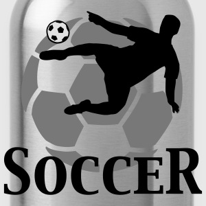 soccer_f_3c T-Shirts - Water Bottle