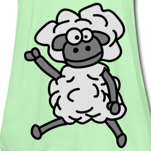cool_sheep_3c Koszulki - Tank top damski Bella