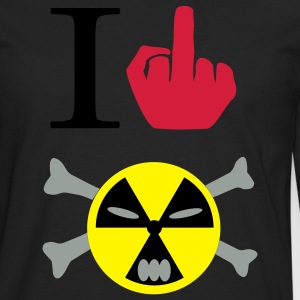 I FUCK NUCLEAR - T-shirt manches longues Premium Homme