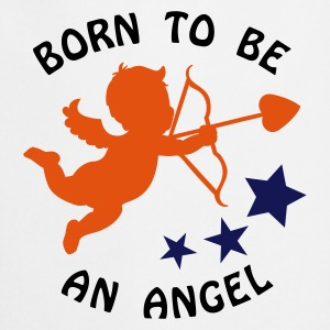 Maxi t-shirt : Born to be an angel - Tablier de cuisine