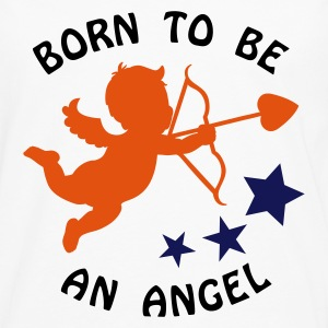 Maxi t-shirt : Born to be an angel - T-shirt manches longues Premium Homme