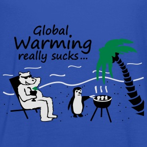 Global Warming really sucks! - girly - Frauen Tank Top von Bella