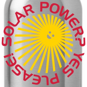 BD Solar Power T-Shirts - Water Bottle
