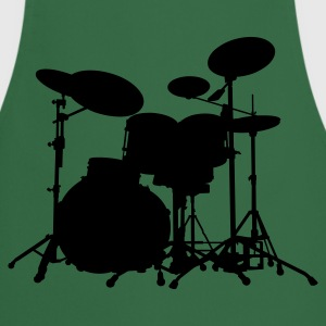 Drums - Percussion - Trummor - Musik - musik - band - musiker - Rock - Instrument - Förkläde
