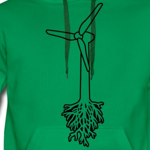 Think Green T-shirts - Sweat-shirt à capuche Premium pour hommes