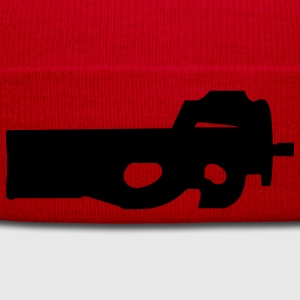 gun rifle pistol weapon military m16 T-Shirts - Winter Hat