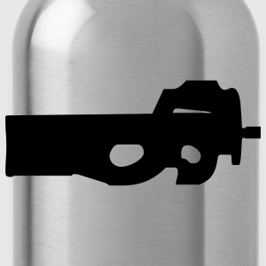 gun rifle pistol weapon military m16 T-Shirts - Water Bottle