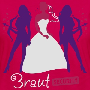 Braut Security 3C T-Shirts - Frauen Premium Langarmshirt