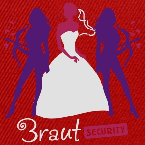 Braut Security 3C T-Shirts - Snapback Cap