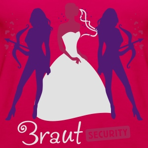 Braut Security 3C T-Shirts - Frauen Premium Tank Top
