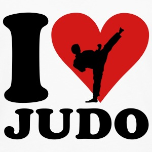 I love Judo T-shirts - T-shirt manches longues Premium Homme