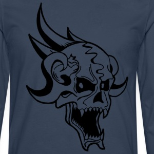 Skull - T-shirt manches longues Premium Homme