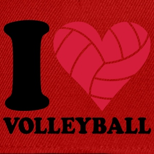 I love Volleyball T-shirts - Casquette snapback