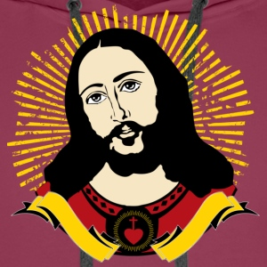 Jesus T-shirt UK - Men's Premium Hoodie