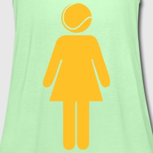 Tennis Woman T-shirts - Vrouwen tank top van Bella