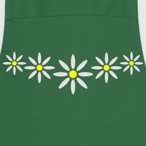 marguerite_flower_pattern_2c T-Shirts - Cooking Apron