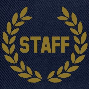 staff deluxe T-Shirts - Snapback Cap