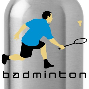 badminton_022011_r_3c T-Shirts - Water Bottle