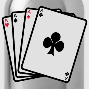 poker cards T-Shirts - Water Bottle